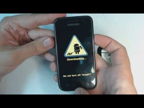 Samsung Galaxy S I9000 - How to put phone in download mode