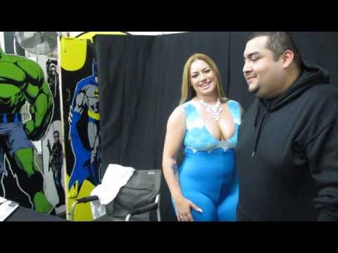 Elke the Stallion Meeting Fans and Signing Autographs