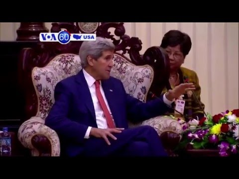 VOA60 America- Secretary of State Kerry travels to Asia to gain support against North Korea