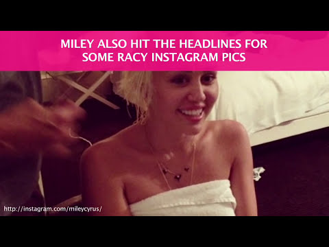 Miley Cyrus's New Nude Instagram In This Week's One Minute Buzz video