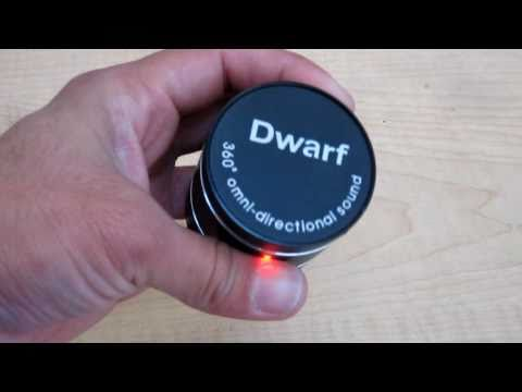 Mini Dwarf 360° Omni-Directional Speaker - Turn Any Surface into a Speaker! - Review