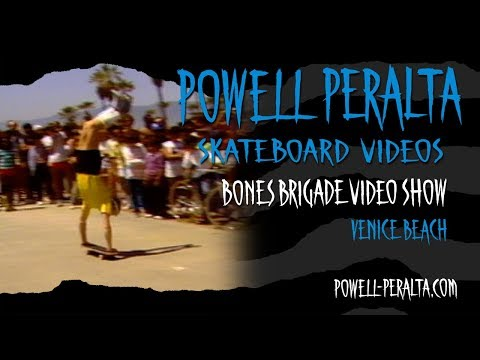 BONES BRIGADE VIDEO SHOW CH. 3 VENICE BEACH