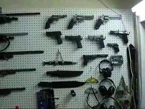 The Best Gun Room and Ammo stockpile private owned