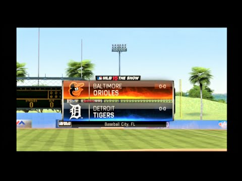 MLB 15 The Show Detroit Tigers Franchise - Orioles Vs. Tigers - Spring Training - EP:1