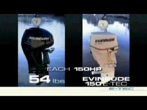 Why an Evinrude E-TEC - Weight