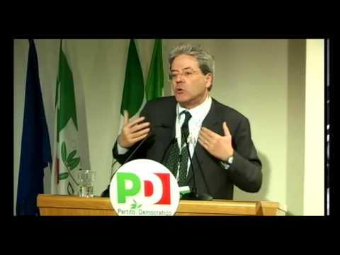 Direzione nazionale Pd – Intervento di Paolo Gentiloni