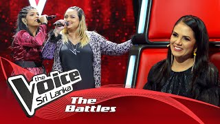 The Battles : Ruth Matharaachchi V Visani Randul | Sanda Thaniyama (සඳ තනියම) | The Voice Sri Lanka