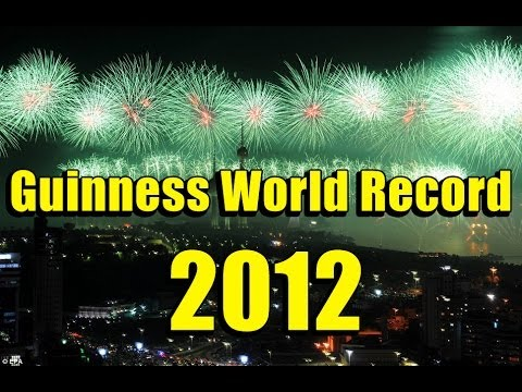 LARGEST FIREWORK SHOW IN THE WORLD (Guinness World Record - Fireworks)