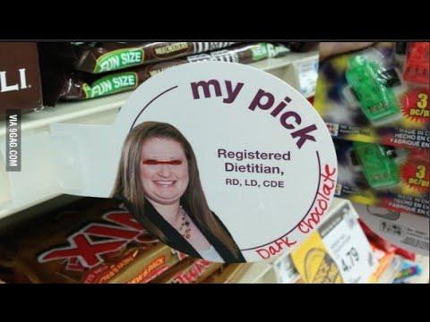 Overweight Dietitian gets me blocked on Facebook + VLOG