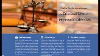 [Top Criminal Defense Law Firms In Ottawa] Video