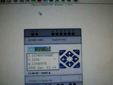 aprenda programar : logos plc clp video 1