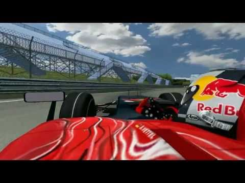 Onboard view of 2 laps of the Circuit Gilles Villeneuve in the Scuderia Toro Rosso STR 2.