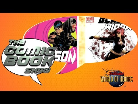 The Comic Book Show: TMNT Sequel, Grayson v. Black Widow and More!
