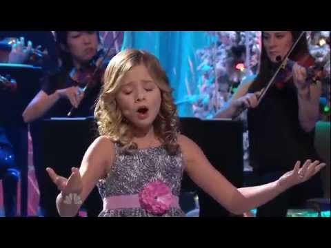 ᴴᴰ Jackie Evancho - O Holy Night (jay Leno) video