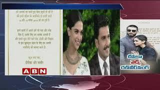 Deepika Padukone, Ranveer Singh announce wedding date