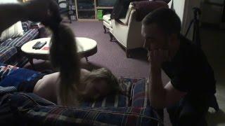 [Hair Cut While Sleeping Revenge Prank] Video