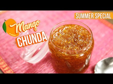 Instant Chunda Recipe - How To Make Raw Mango Chunda - Gujarathi Sweet Mango Pickle - Varun Inamdar