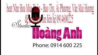 beat Như Hoa Mùa Xuân - Bảo Thy, Ái Phương, Văn Mai Hương
