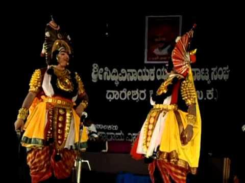 NAAGASHRI Yakshagana- Dhareshvara uttara kannada in Memory of...