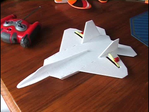 Micro YF-22 Depron Flight Video
