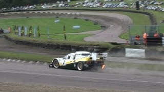 Ford RS200 Pikes Peak - pure engine sounds - driven by Liam Doran at Lydden Hill Rallycross Circuit
