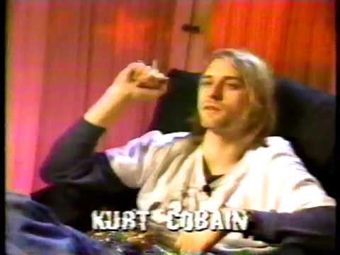 Kurt Cobain - MTV Special on drugs -Kurt talks briefly about drugs (1993)