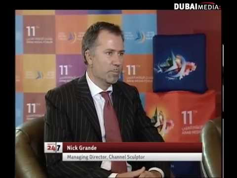 Dubai TV Interview at Arab Media Forum - Social implications of new media technologies