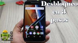 Desbloquear Bootloader Moto G5, G4, G3 y Todos los Motorola muy facil