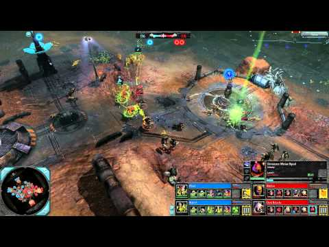 Dawn of War 2: Retribution — 2v2 | Faction Battle —  Tyranids vs Space Marines