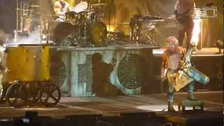 Rammstein - Mein Teil [06/07.03.2012 - Paris] (multicam by popaduba) HD