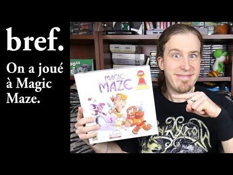 Bref. On a joué à Magic Maze. (parodie)