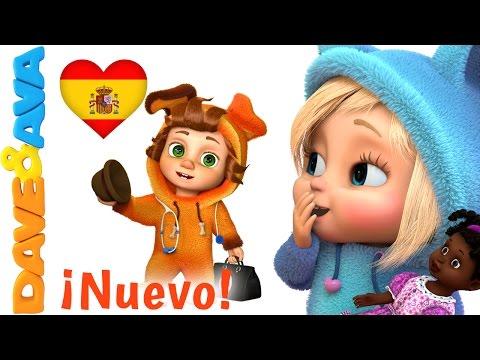 🤒 Сanciones Infantiles   La Muñeca de Rebeca   Canciones Infantiles en Español de Dave y Ava 🤒