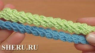 Вяжем крючком ровное полотно