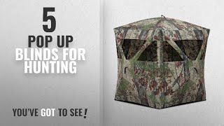 Top 10 Pop Up Blinds For Hunting [2018]: Barronett Blinds RA200BW Radar Pop Up Portable Blind,