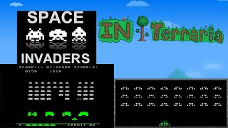 SPACE INVADERS IN TERRARIA