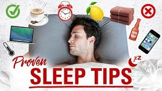 Proven Sleep Tips | How to Fall Asleep Faster | Doctor Mike