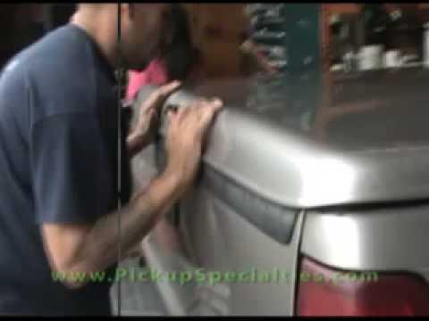 Howto Install Fiberglass Tonneau Cover Pickupspecialties