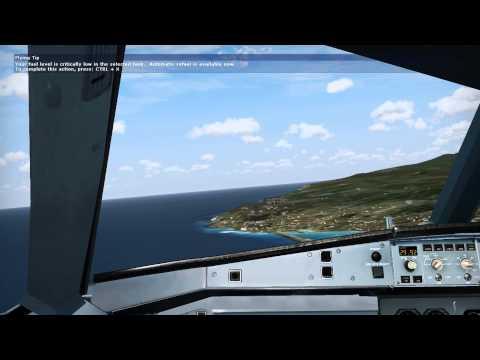 Primeira aterragem Airbus A319 Wilco
