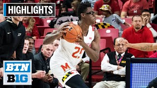 Highlights: Smith Earns Double-Double in Win | Purdue at Maryland | Jan. 18, 2020