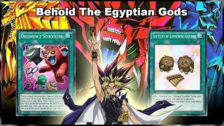 [Yu-Gi-Oh! Duel Links] Behold! The Wrath of Gods! Turbo Egyptian Gods Deck!