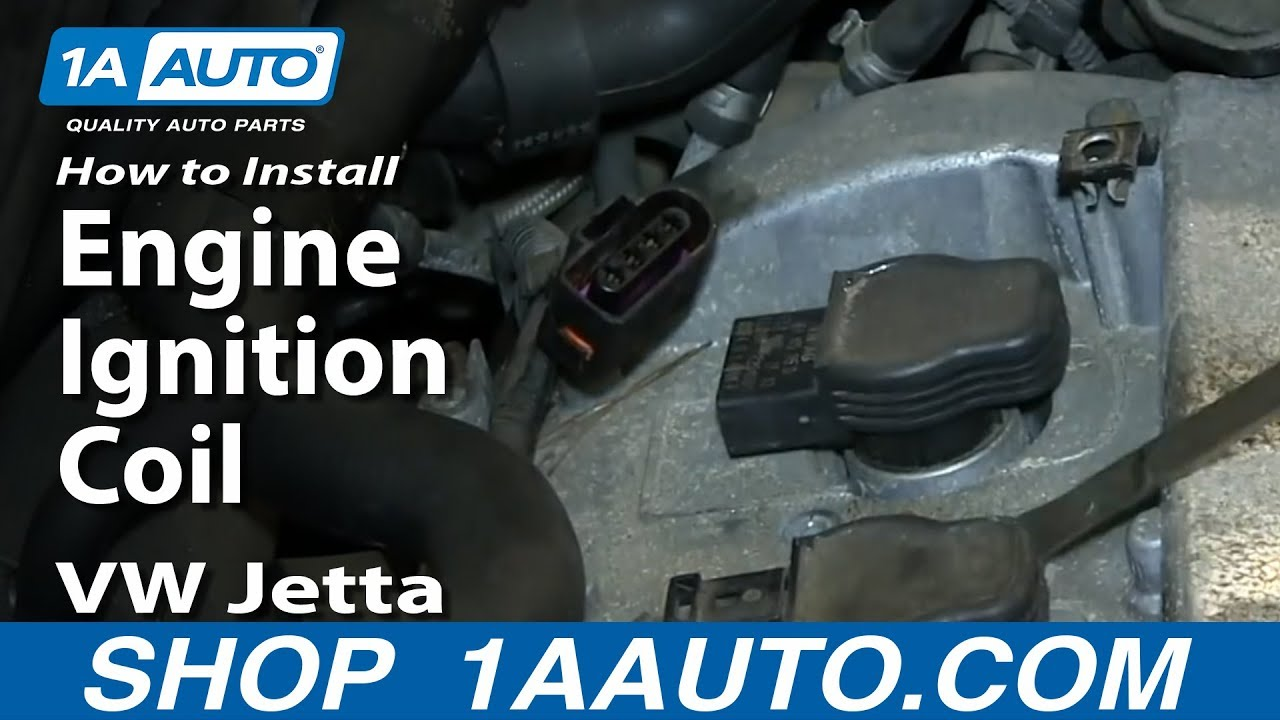 how to install replace engine ignition coil 2001