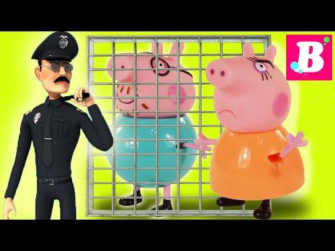 Свинка Пеппа Все серии подряд Мультик из игрушек - Выпуск №4 Peppa Pig Играем вместе Свинка Пеппа