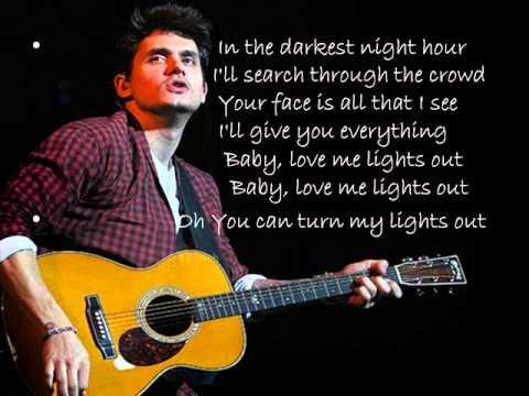 John Mayer-XO Lyrics