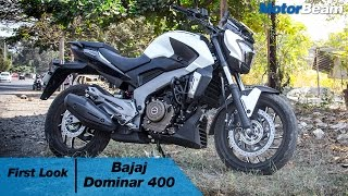 Bajaj Dominar 400 0-100 km/hr, Exhaust Note & Walkaround | MotorBeam
