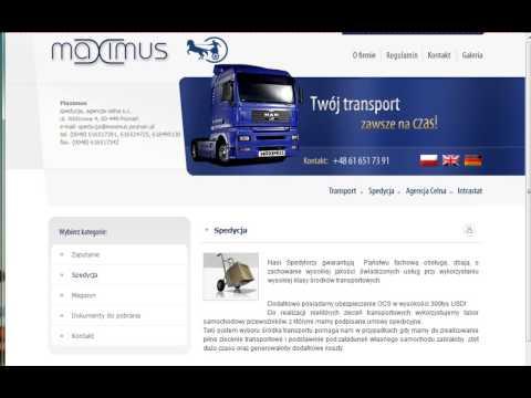 Firma Transportowa - Poznań