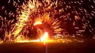 great steel wool/fire spinning
