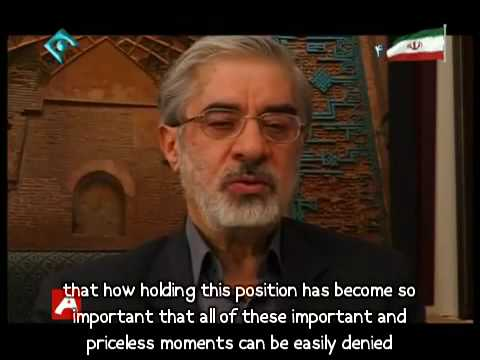 Interviews WIth President Khatami, President Mousavi and his wife about Iran election