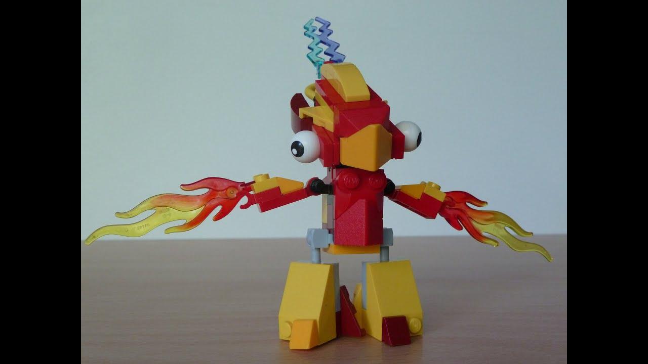 Mixels Flain And Teslo Lego Mixels Flain Teslo Mix