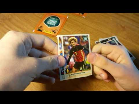 "Открытие 6 пачек ""Дорога на Чемпионат мира 2018"" 