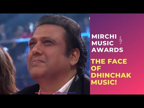 The Face Of Dhinchak Music, Govinda At Royal Stag Mirchi Music Awards | Radio Mirchi